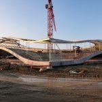 Construction du Rolex Learning Center © Alain Herzog / EPFL 2007